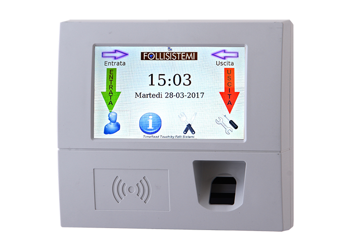 TimeRead_Touch_Biometrico_Bianco_S