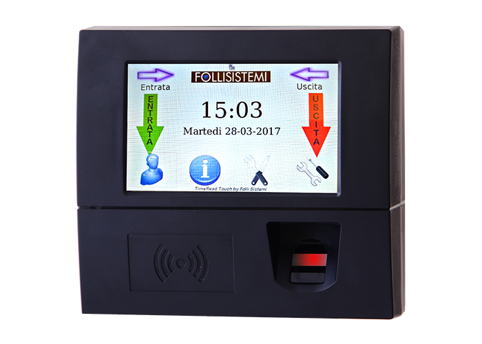 TimeRead_Touch_Biometrico_S