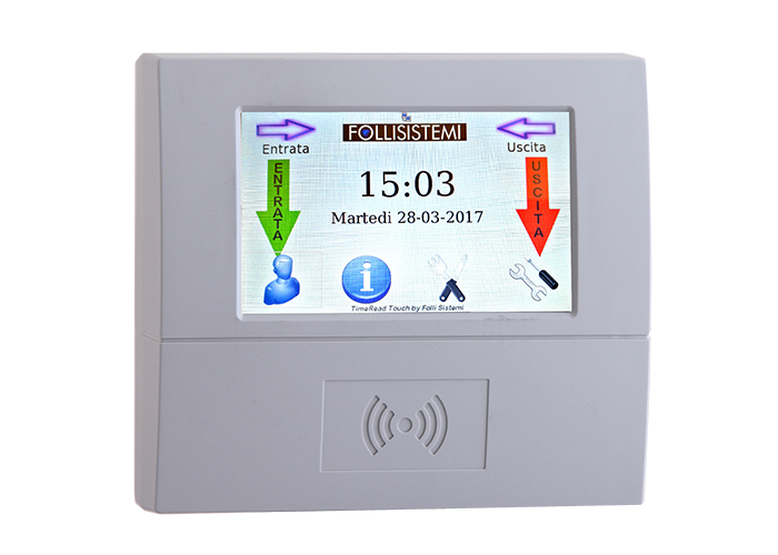 TimeRead_Touch_Prossimita_SX_Bianco_S